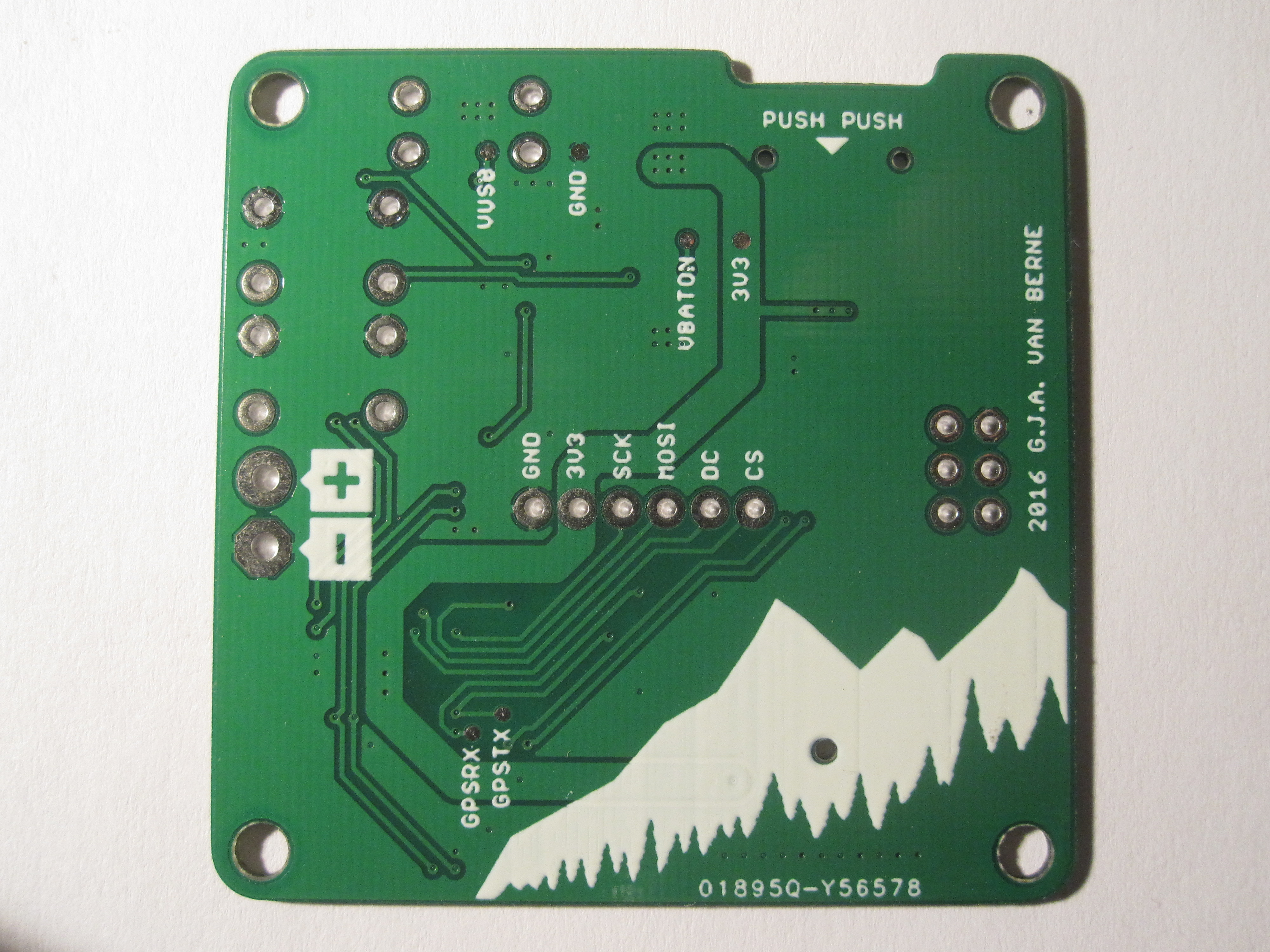 Seeedstudio Fusion Pcb Fab Service Review 990 For 10 Custom Circuit Board Trace Side Minimum Width Used 03mm Space Between Traces Polygons Vias 02mm Via Size 032mm Drill 06mm Outer Diameter Designator Textsize